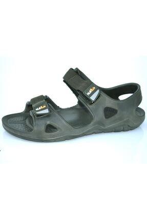 Milano Brava Ortopedik Erkek Sandalet Haki 0