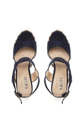 Kemal Tanca Kadın Vegan Sandalet Sandalet 575 Y1632 Bn Sndlt 3