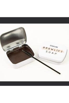 Starline Açık Kahve Kaş Sabitleyici Kaş Şekillendirici Browlift Soap 0