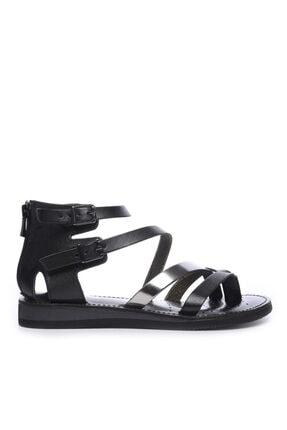 Kemal Tanca Kadın Derı Sandalet Sandalet 649 131 Bn Snd 0