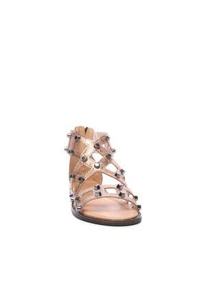 Kemal Tanca Kadın Derı Sandalet Sandalet 169 51170 Bn Sndlt 1