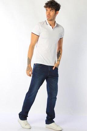 Erkek Yüksek Bel Kot Pantolon Vegas resmi
