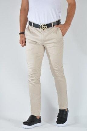 Terapi Men Erkek Slim Fit Keten Pantolon 20y-2200316 Krem 0