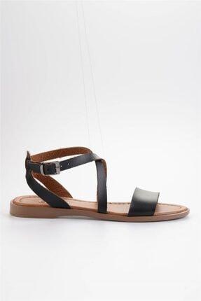 Bambi Siyah Kadın Sandalet L0671404109 2