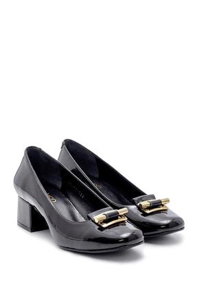 Derimod Kadın Rugan Kalın Topuklu Ayakkabı 4