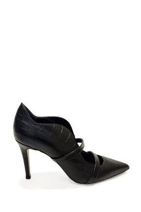 Poletto Hakiki Deri Klasik Topuklu Ayakkabı Plt19y-4924 21 3