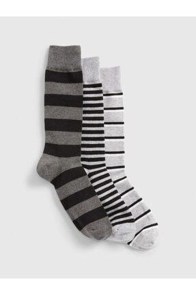 GAP 3'lü Desenli Çorap Seti 0