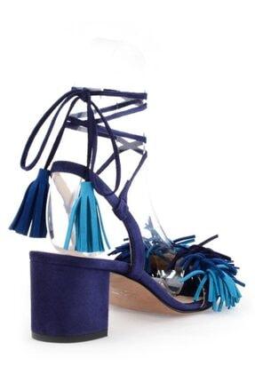 Nursace Hakiki Deri Klasik Topuklu Ayakkabı Nsc17y-a51015 2