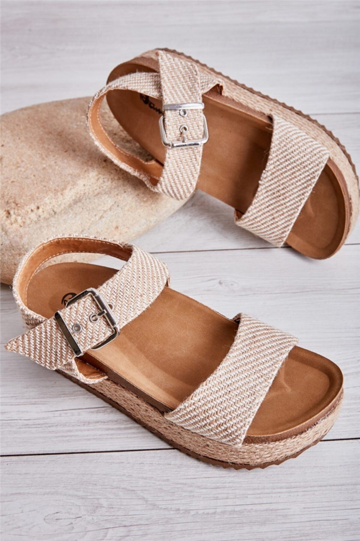 Natural Kadın Sandalet L0522300028