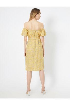 Koton Dügme Detayli Elbise 3
