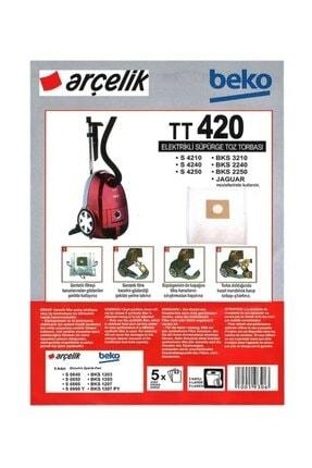 Arçelik S 4240 Elektrikli Süpürge Torbası (20 Adet) 0