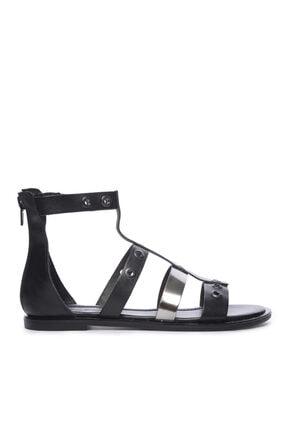 Kemal Tanca Kadın Derı Sandalet Sandalet 169 7280 Bn Sndlt 0