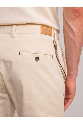 Dufy Taş Aksesuar Detaylı Armür Pamuklu Likra Erkek Pantolon - Modern Fit 3