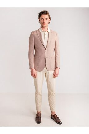 Dufy Taş Aksesuar Detaylı Armür Pamuklu Likra Erkek Pantolon - Modern Fit 4
