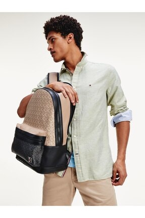 Tommy Hilfiger Coated Canvas Backpack 3
