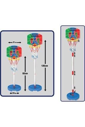 Dede Oyuncak Pj Maskeliler 2 Boy Ayarlanabilir Ayaklı Basket Potası 3