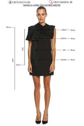 RICK OWENS Mini Elbise 4