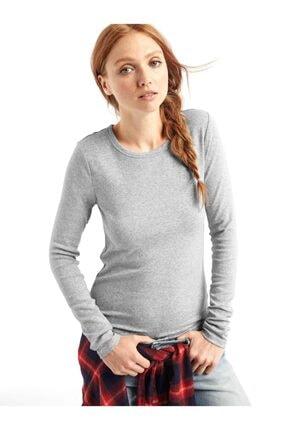 GAP Uzun Kollu Sıfır Yaka T-shirt 3