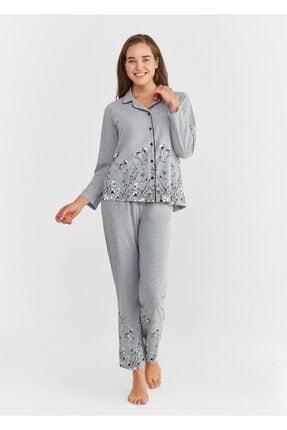 Suwen Pearl Maskulen Pijama Takımı 0