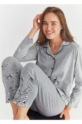 Suwen Pearl Maskulen Pijama Takımı 1