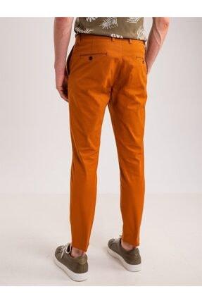 Dufy Bakır Aksesuar Detaylı Armür Pamuklu Likra Erkek Pantolon - Modern Fit 3