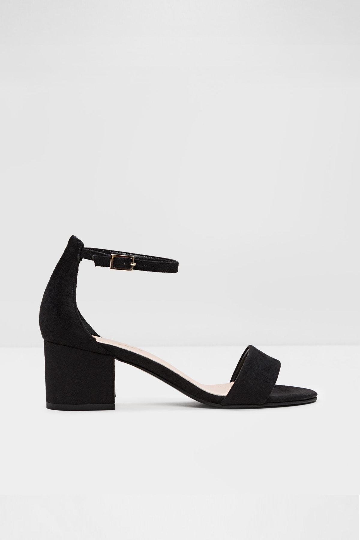 Vıllarosa-tr - Siyah Kadın Topuklu Sandalet