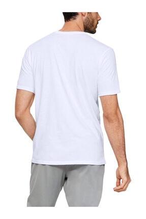 Under Armour Erkek Spor T-Shirt - Ua Camo Boxed Logo Ss - 1351616-101 2