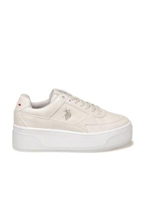 US Polo Assn MADONNA 1FX Bej Kadın Fashion Sneaker 100910525 1