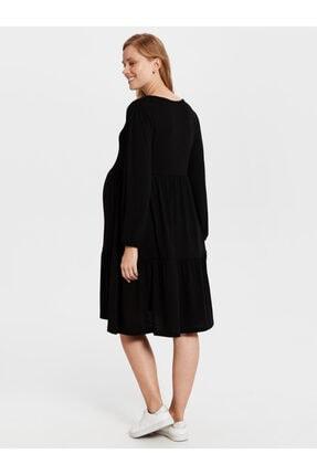 LC Waikiki Kadın Siyah  Elbise 0