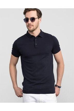 Tudors Slim Fit Polo Yaka Triko T-shirt 0