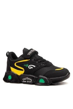 Çocuk Erkek Günlük Spor Ayakkabı Cırt Cırtlı Okul Ayakkabısı PRA-2029630-295971