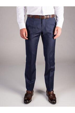Dufy A.lacivert Düz Erkek Pantolon - Regular Fıt 0