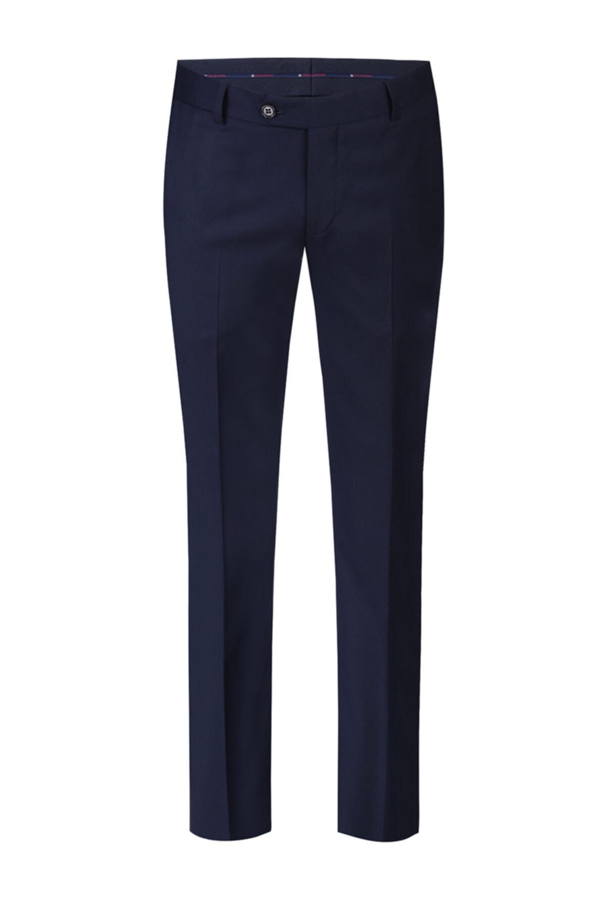 Lacivert Klasik Pantolon
