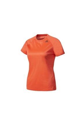 adidas Kadın Turuncu Spor T-Shirt 1