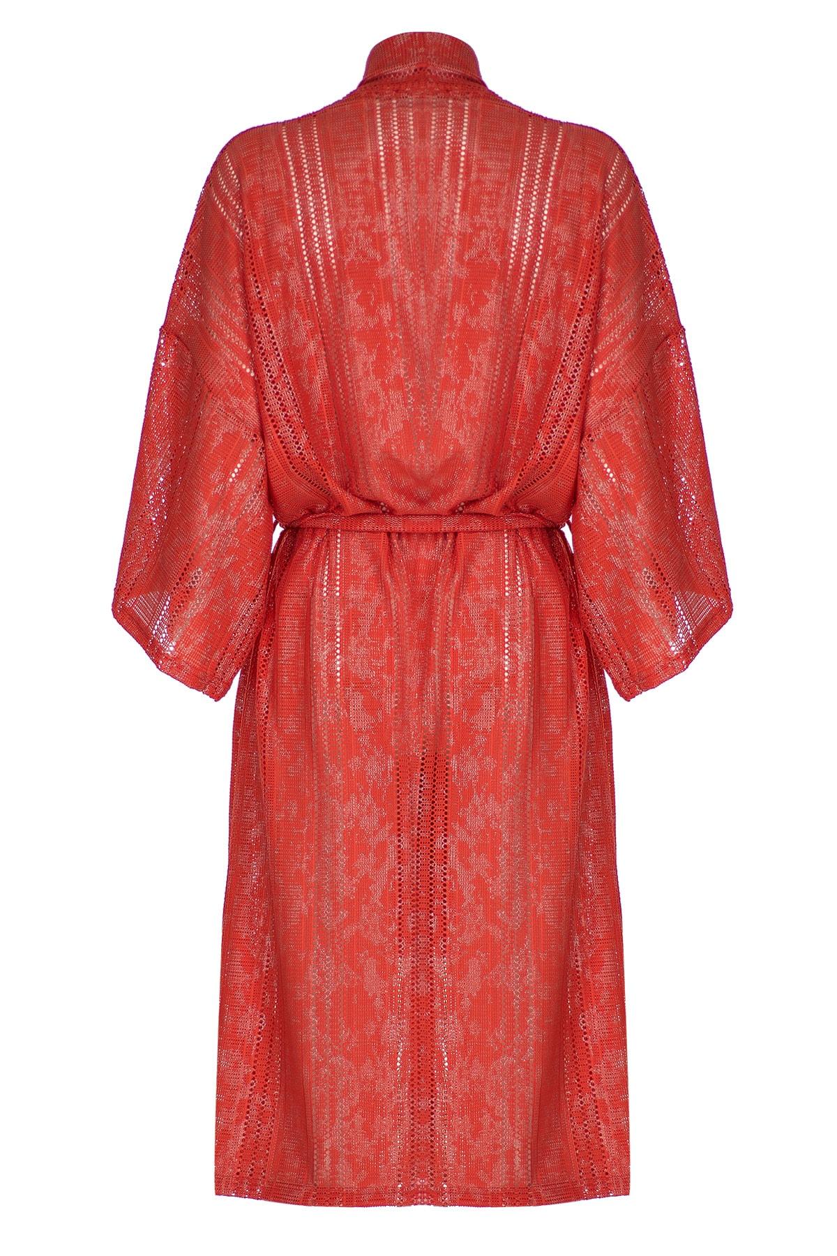 GTNight Uzun Kimono Simli