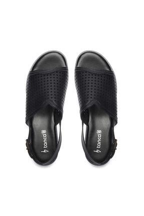 Kemal Tanca Kadın Derı Sandalet Sandalet 674 413406 Bn Sndlt 3