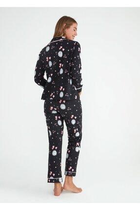 Suwen Mina Maskulen Pijama Takımı 2