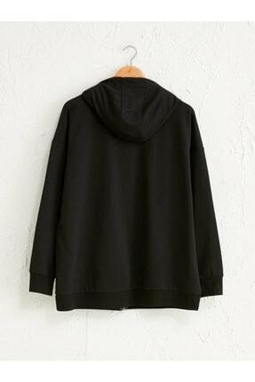 LC Waikiki Kadın Siyah  Sweatshirt 1