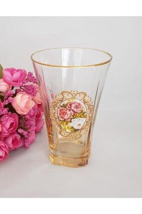 Lav Lüsterli Su- Meşrubat Bardağı 6 Lı Set 1