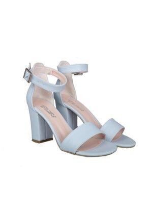 PUNTO 460062 Mavi Kadın Stiletto 4