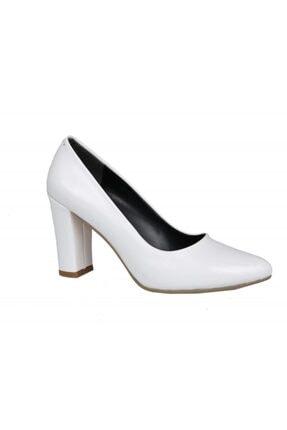 PUNTO 462067 Beyaz Rugan Kadın Stiletto 1