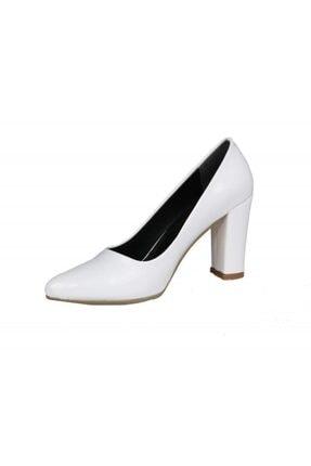 PUNTO 462067 Beyaz Rugan Kadın Stiletto 3