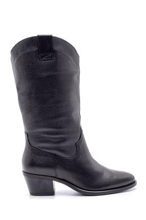 Derimod Kadın Deri Topuklu Çizme 0