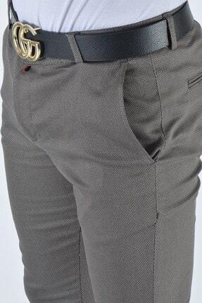 Terapi Men Erkek Slim Fit Keten Pantolon 20y-2200336 Vizon 4