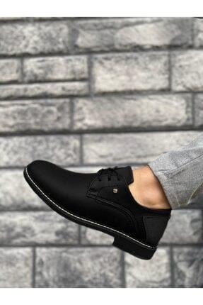 Marsetti Erkek Siyah Klasik Casual Ayakkabı 0