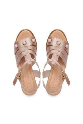 Kemal Tanca Kadın Derı Sandalet Sandalet 169 51516 Pls Bn Sndlt 3