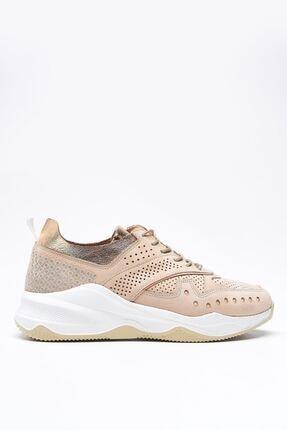 Louis Cardy Nixus Bej Nubuk Hakiki Deri Kadın Sneakers 2