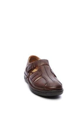 Kemal Tanca Erkek Derı Sandalet Ayakkabı 742 5 Erk Sndlt Y19 1