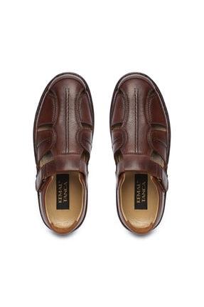 Kemal Tanca Erkek Derı Sandalet Ayakkabı 742 5 Erk Sndlt Y19 3