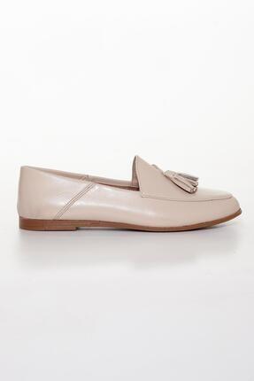 Diego Carlotti Hakiki Deri Günlük Kadın Babet Ayakkabı 1